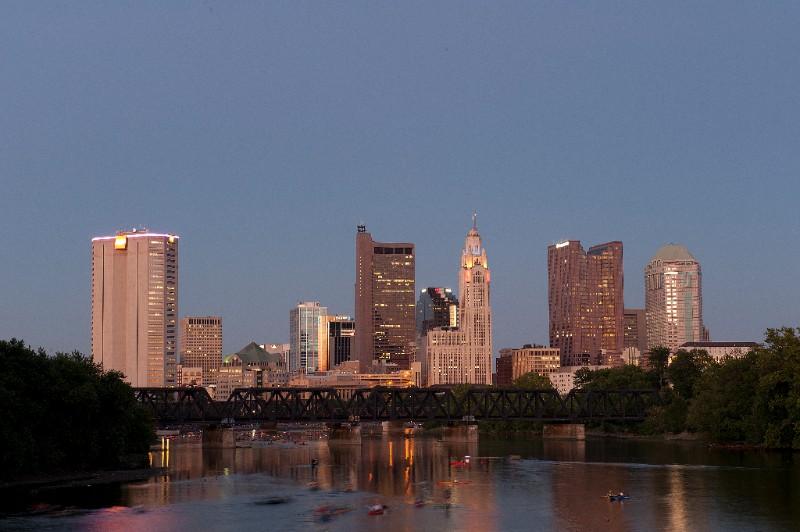 Ohio SPJ Awards; 2016; Columbus skyline